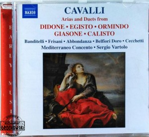 Arias and Duets from Didone, Egisto, Ormindo, Giasone and Calisto