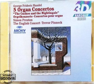 "5 Organ Concertos ""The Cuckoo And The Nightingale"""