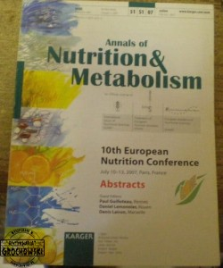 Annals of Nutrition & Metabolism 2007