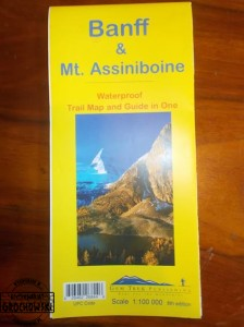 Banff & Mt. Assiniboine : Waterproof Trail Map and Guide in One