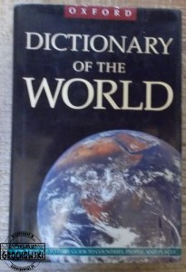 The Oxford Dictionary of the world.  MUNRO