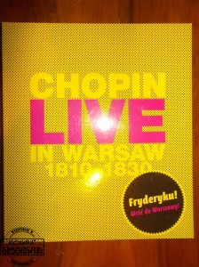 Chopin live in Warsaw 1810-1830