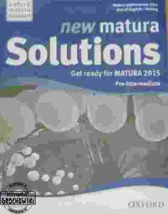 New Matura Solutions; Get ready for MATURA 2015; Pre-Intermediate