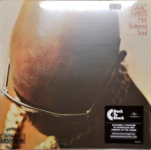 Isaac Hayes ‎– Hot Buttered Soul LP