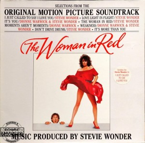 Stevie Wonder – The Woman In Red (Selections From The Original Motion Picture Soundtrack) LP