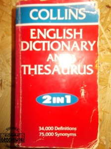 Collins English dictionary and thesaurus 2 in 1